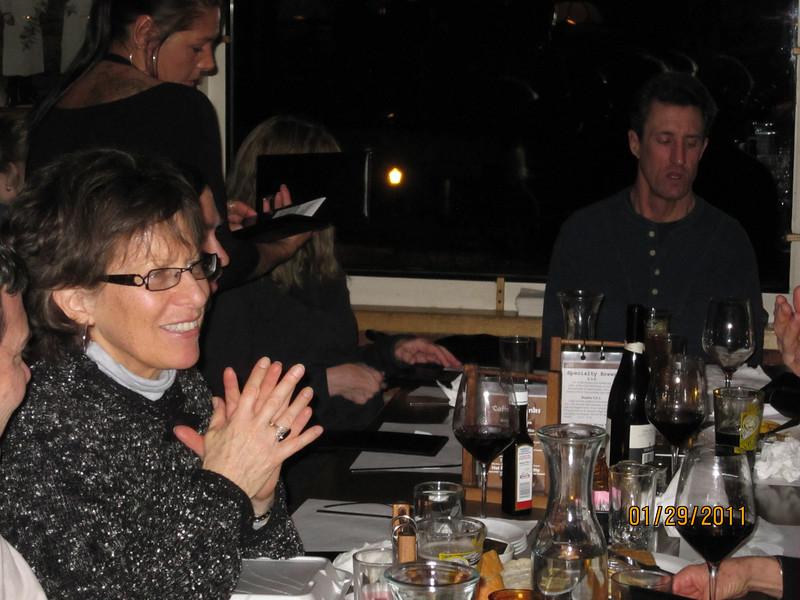 Dinner at the Vierling. Gussie, Curt, Jamie Greene