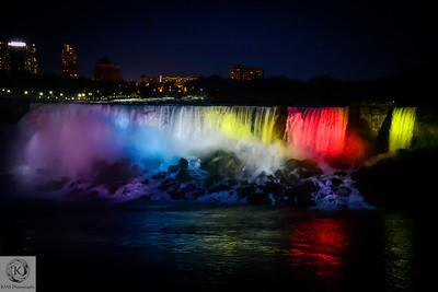 Niagara Falls State Park (Night Photography)