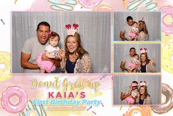 Kaia's 1st Birthday Party 9-8-19