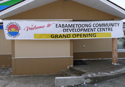 Jan15-13 Fort Hope opening development centre