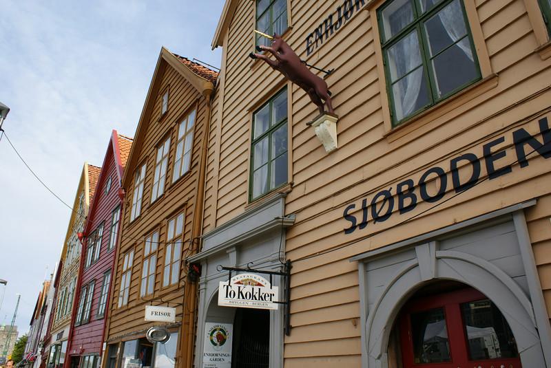 Streets of Bergen.