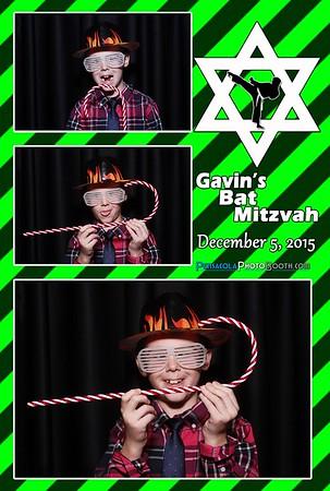Gavin's Bat Mitzvah 12-5-2015