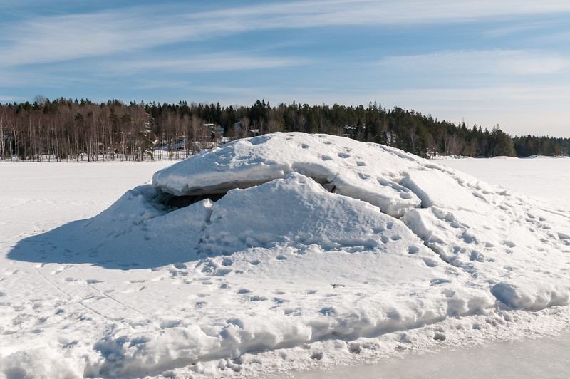 Lycksjön, Vendelsö, 2013-03-12