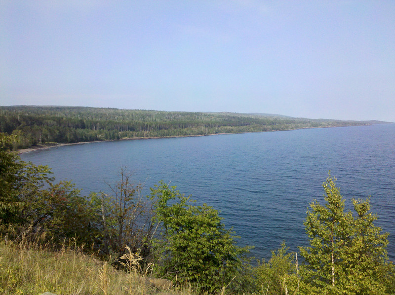 South of Grand Marais, MN on Rt 61