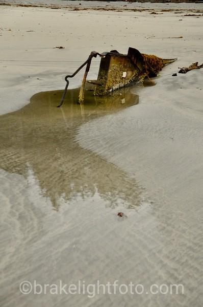 Old Boat Wreck on Lepas Bay