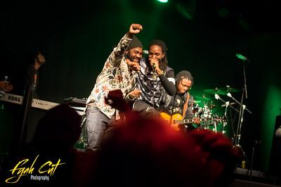 Kabaka Pyramid & The Pebblerockers & Exco Levi live in Helsinki Oct 8th 2015