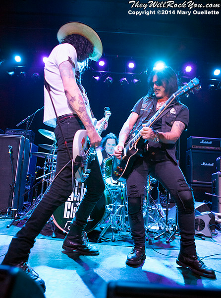 Gilby Clarke  <br> July 25, 2014 <br> Casino Ballroom - Hampton Beach, NH <br> Photos by: Mary Ouellette
