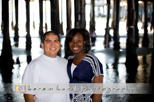 0210 Ke'Shae & Julio's Engagement Session