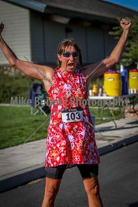 Palouse Sprint Triathlon Finish Line