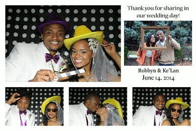 Roobyn & Ke'Lan's Wedding Photo Booth