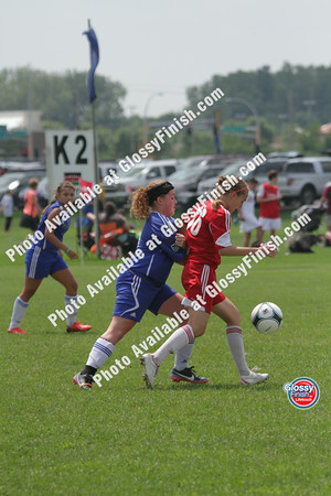 U15 Girls - Futura FC Bella-Forte vs Brookefield SA Red