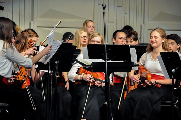 Cat's Last 8th Grade Prelude and Orchestra Concert 2017