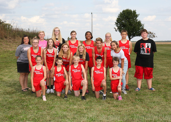 SN MS Cross Country Team 2018