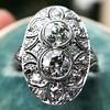 1.75ctw Edwardian Toi et Moi Old European Cut Diamond Ring  26