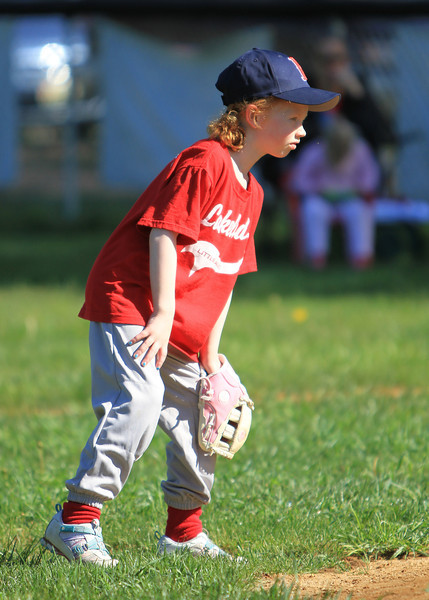 Lakeland T-Ball Dodgers vs Redsox