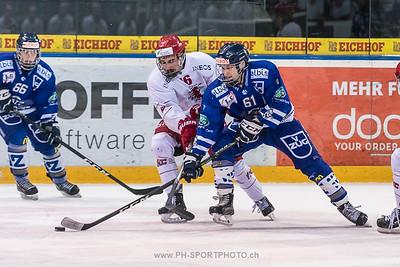 Playoff 1/4 (3): EVZ Elite A - Lausanne 4 Clubs