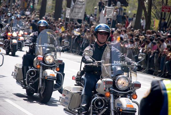 PopeMobile Motorcade