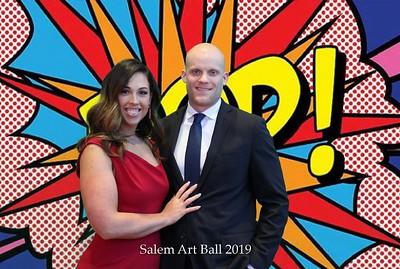 Salem Art Association Clay Ball Photobooth 2.23.2019