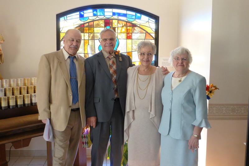 Hank, Robert, Beverly and Eleanor