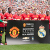Soccer: Friendly-Real Madrid vs Manchester United