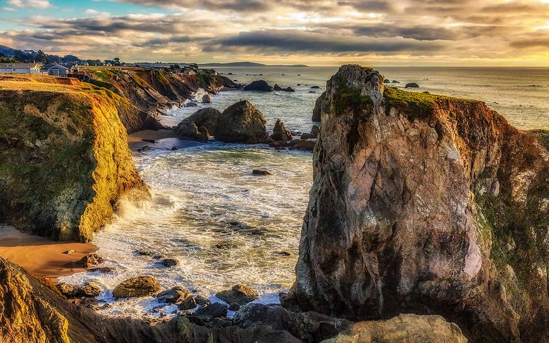 Ernest Shook.1. Coastal Sunset.jpg