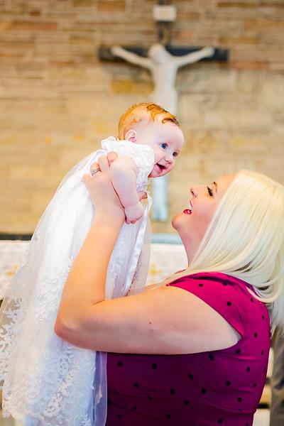 LaGrange Park IL // Baby Baptism // Weyn