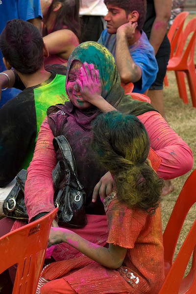 Candid moment at Festival Colors in Singapore