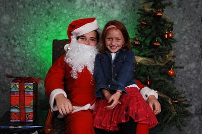 Retratos de Navidad con Papa Noél (Santa Claus) 2007