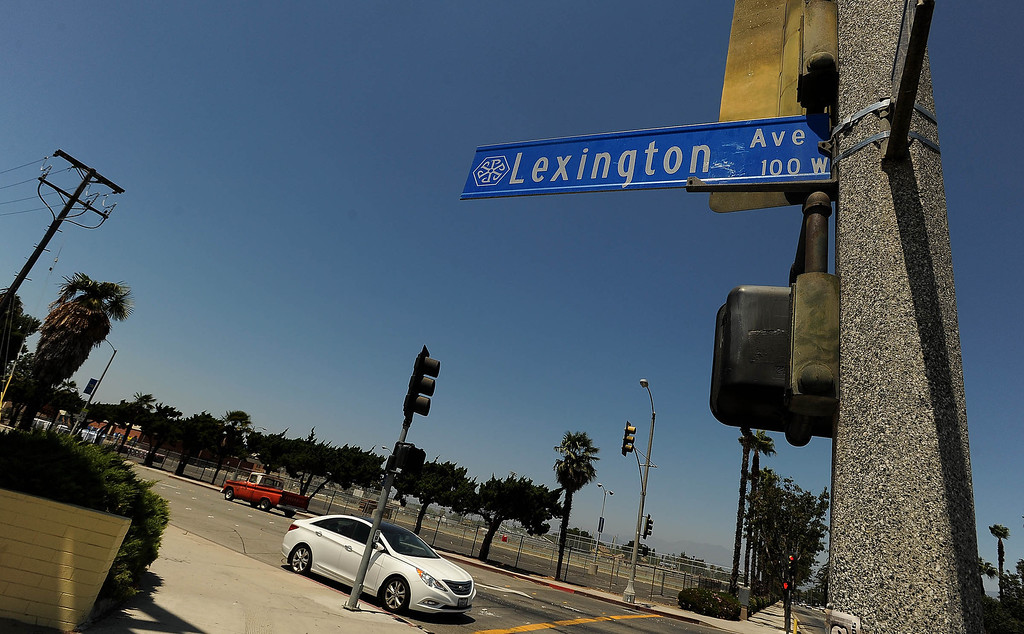 . Jose Cerda, 45, of Pomona, was shot and killed while riding his bicycle along the Lexington Avenue west of Garey Avenue in Pomona Saturday August 10, 2013.   GABRIEL LUIS ACOSTA/STAFF PHOTOGRAPHER.