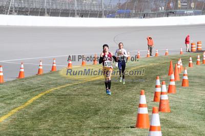 3.0 Mile Mark, D3 Girls - 2014 MHSAA LP XC Finals