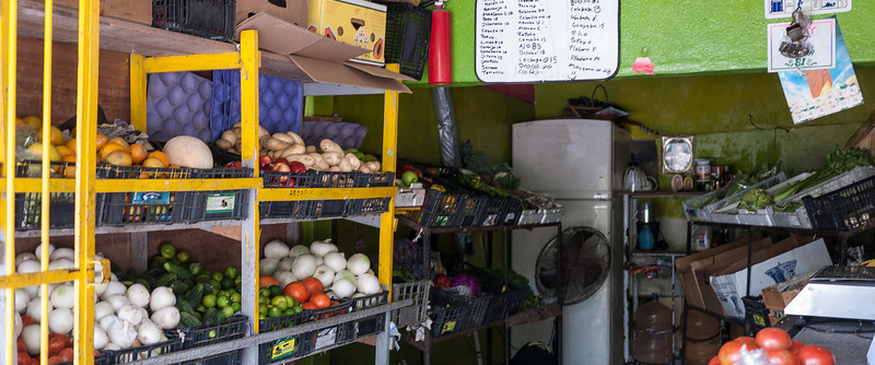Veggie shop next door to my apartment