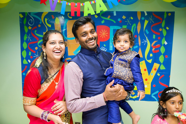 Vihaan Mahender 1st Birthday