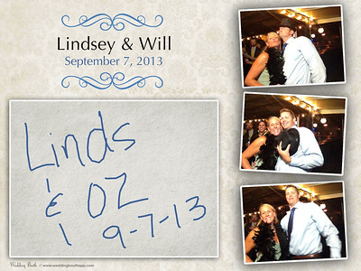 Lindsey & Will - Photo Booth