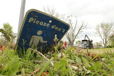 Northside Neighborhood Post Tornado Cleanup Day 5