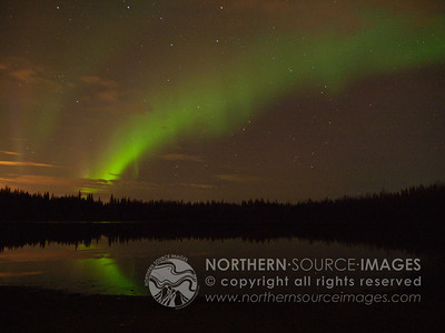2011-09-28  Aurora at Eielson Lakes
