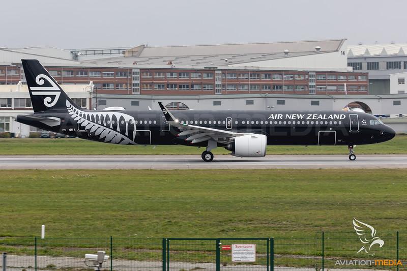 Air New Zealand / Airbus A321-271NX / ZK-NNA