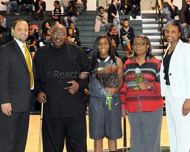SPSU Womens Basketball Senior Night (2-27-14)
