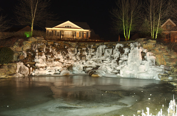 Lansdowne Waterfall in winter