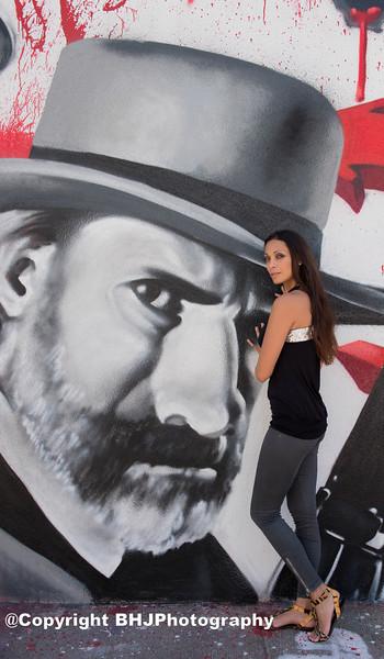 Graffiti Art Fashion  Photo Shoot Part I.