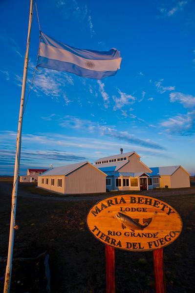 Maria Behety Lodge, Tierra del Fuego, Argentina