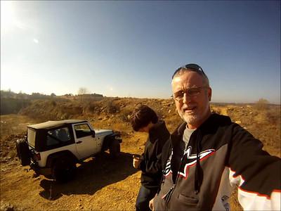 Jeep Trails near Bridgeport, TX