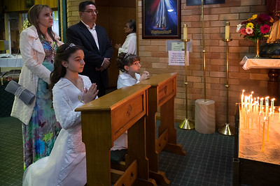 2016 Mikhael 1st Communion