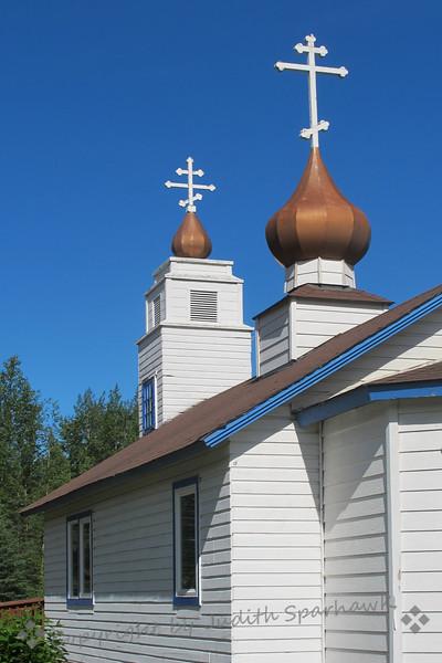 Church at Eklutna