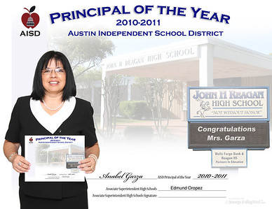 AISD Principal of the Year 2011