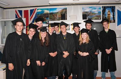 Diploma-uitreiking vwo Lyceum Elst 05-07-2011