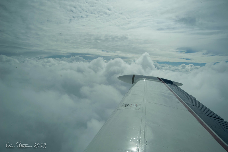 Clouds enroute to Florida
