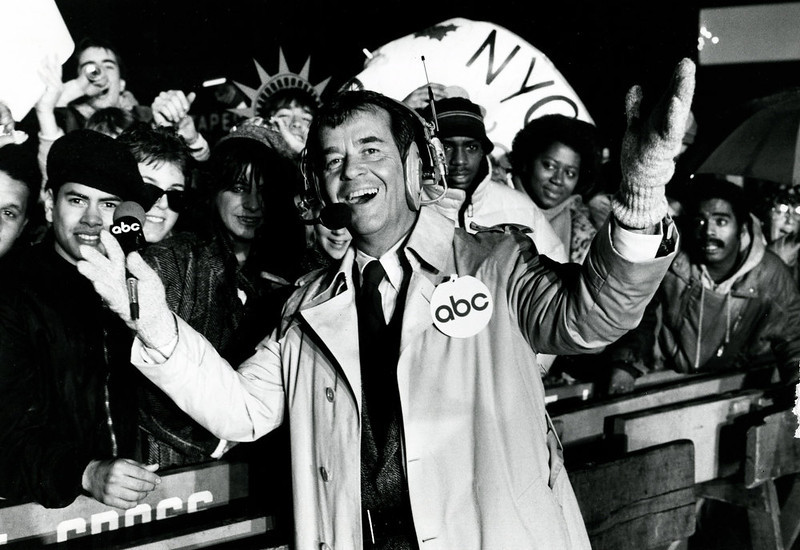 . NYRE 1986 Dick Clark in Time Square