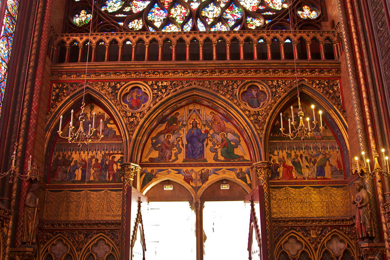 Main chapel of Sainte-Chapelle.
