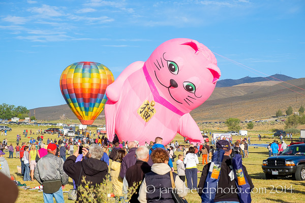 Nevada - Great Reno Balloon Races 2014