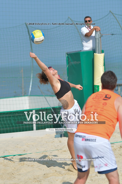 presso Zocco Beach PERUGIA , 25 agosto 2018 - Foto di Michele Benda per VolleyFoto [Riferimento file: 2018-08-25/ND5_8316]